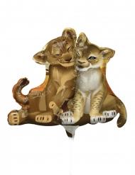 Lejonkungen™ liten aluminiumballong 23 cm