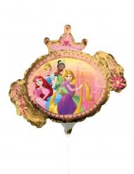 Disney Princesses™ liten dubbelsidig ballong 23 cm
