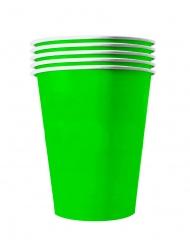 20 Gröna amerikanska pappmuggar 53 cl