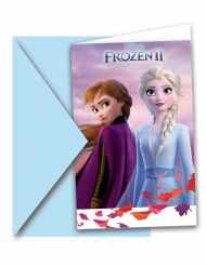 6 Frost 2™ inbjudningskort med kuvert