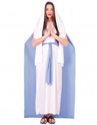 Jungfru Mariadräkt med mantel dam