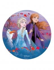 Frost 2™ Tårtlock med Elsa och Anna 20 cm