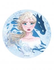 Frost 2 Elsa™ tårtlock av stärkelse 20 cm