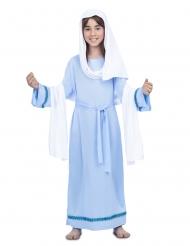 Blå jungfru Mariadräkt barn