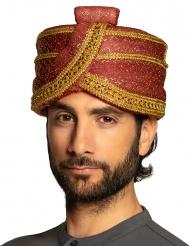 Sultan-turban med paljetter vuxen