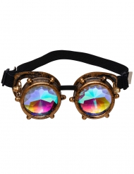 Steampunk-glasögon med prismor vuxen