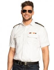 Vit kaptensskjorta herr