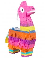 Färgglad mini-piñata lama 23x13 cm