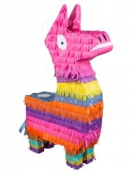 Färgglad lama-piñata 58x35 cm