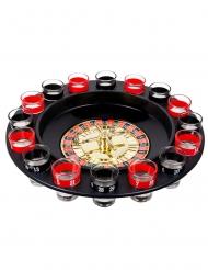 Roulette-spel med shots 30 cm