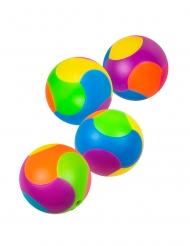 4 Pusselbollar för piñatan 3 cm