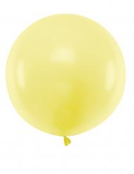 Stor gul lateballong 60 cm