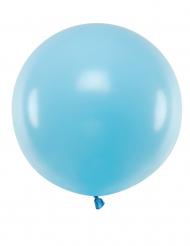 Stor blå latexballong 60 cm