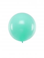 Mintgrön latexballong 1 m