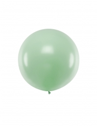 Stor pistaschgrön latexballong 1 m