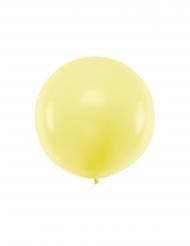 Stor gul latexballong 1 m