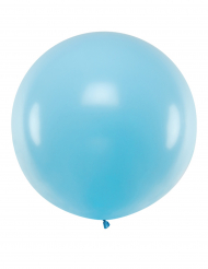 Enorm blå latexballong 1 m