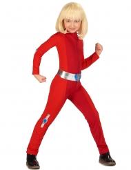 häftig röd spiondräkt barn