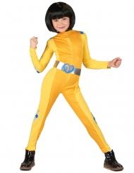 Häftig gul spiondräkt barn