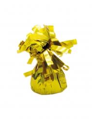 6 Ballongvikter med guldfärgade fransar
