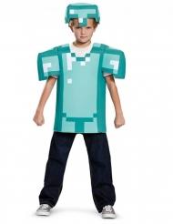 Minecraft™ diamantrustning barndräkt