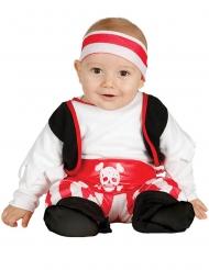 Pirat bebisdräkt