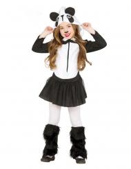 Panda med kjol barndräkt