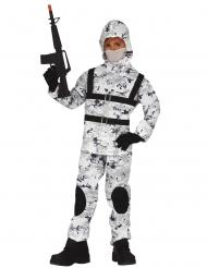 Arktisk soldat barndräkt