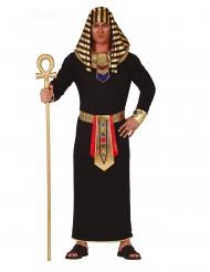 Svartguldig faraodräkt herr