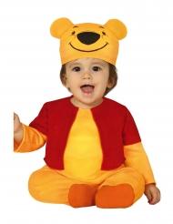 Gul björndräkt bebis