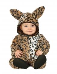 Leoparddräkt i plysch bebis