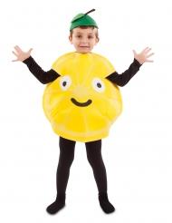 Liten citrondräkt barn