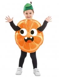 Liten apelsindräkt barn