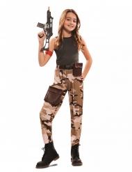 Soldatdräkt flicka