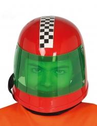 Röd Formel 1-hjälm barn