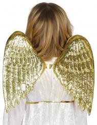 Guldfärgade änglavingar barn
