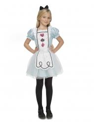 Alice i underlandet barndräkt