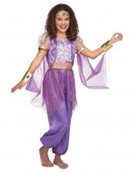 Lila orientalisk prinsessdräkt barn
