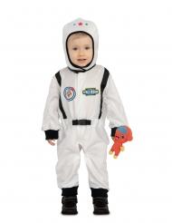 Astronaut med utomjording bebisdräkt