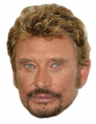 Johnny Halliday pappmask