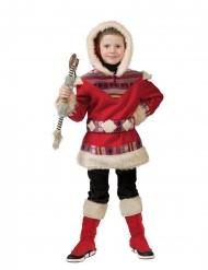 Röd arktisdräkt barn