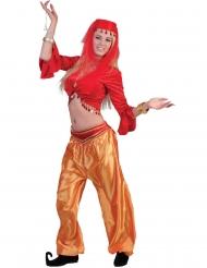 Röd dansartröja dam