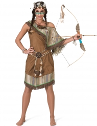 Lyxig indiandräkt dam