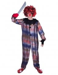 Psykedelisk clowndräkt vuxen