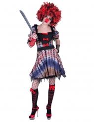 Clownklänning dam