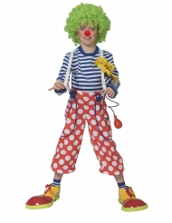 Clownbyxor med hängslen barn