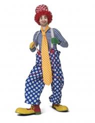 rutig clownslips vuxen