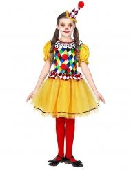 Clownen christel barndräkt