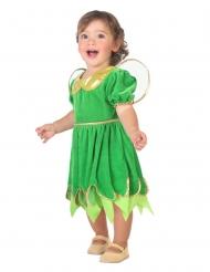 Grön älva bebisdräkt