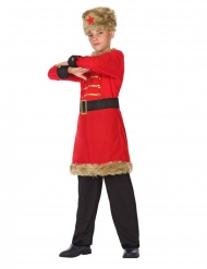 Rysk militärdräkt barn